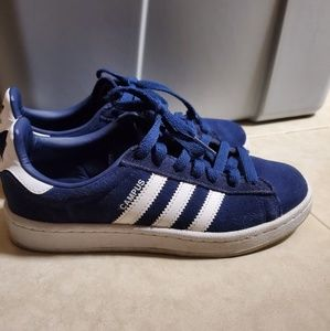 Adidas Suede Campus sneakers shoes in navy